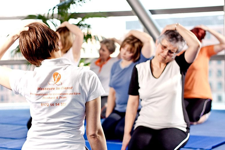 Mobile spine exercise programmes in Berlin
